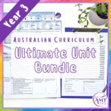 BTSdownunder Year 3 Ultimate Bundle- Australian Curriculum Units & Tests
