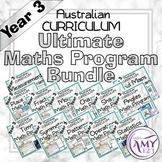 Year 3 Ultimate Maths Program Bundle- Australian Curriculum