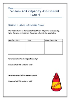 Year 3 Volume and Capacity Assessment