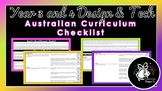 Year 3 and 4 Design & Technologies | Australian Curriculum Checklist