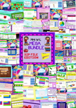 Year 3 and 4 Smart Notebook and Unit of Work MEGA Bundle 2 Zip File Edition