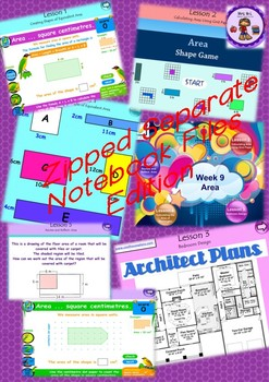 Year 3 and 4 Smart Notebook and Unit of Work MEGA Bundle 3 Zip File Edition