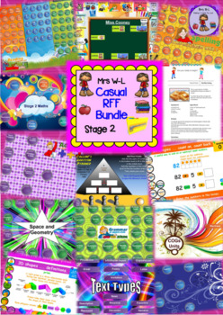Year 3 and 4 / Stage 2 Casual RFF Smart Notebook Bundle