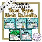 Year 3 and 4 Text Type Unit Bundle