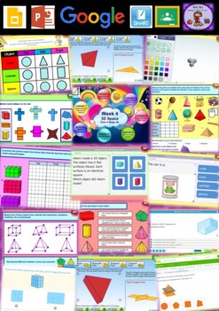 Year 4 3D Space Smart Notebook and Unit of Work Bundle 1