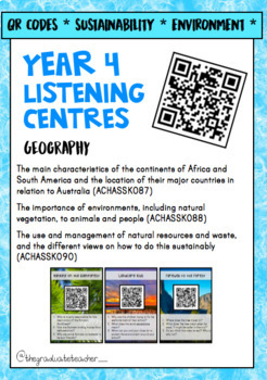 Year 4 ACARA HASS Bundle - Civics and Geography