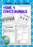 Year 4 ACARA HASS Bundle - Civics and Geography
