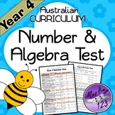Year 4 ACARA Number Maths Test