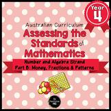 Year 4 Australian Curriculum Maths Assessment Part B Fract