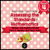 Year 4 Australian Curriculum Maths Assessment Part A Numbe