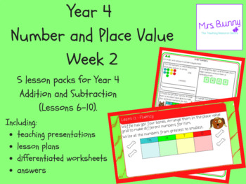 Year 4 Number and Place Value Week 2
