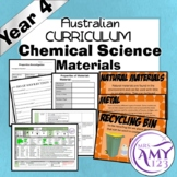 Year 4 Chemical Science- Materials- Australian Curriculum