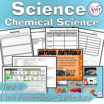 Year 4 Chemical Science- Materials- Australian Curriculum