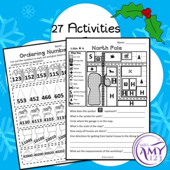 Year 4 Christmas Maths Revision - Australian Curriculum Aligned