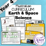 Year 4 Earth and Space Science- Australian Curriculum
