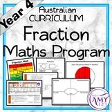 Year 4 Fractions Australian Curriculum Maths Program