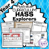 Australian Curriculum HASS Year 4 Explorers Unit- Geography and History