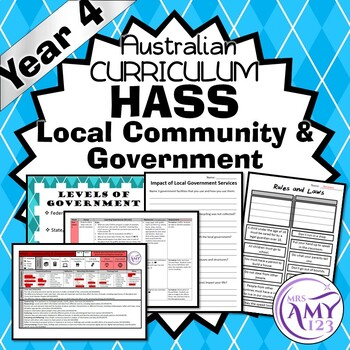 Year 4 HASS Local Community and Government- Civics & Citizenship