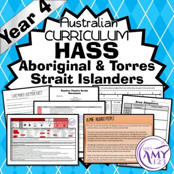Year 4 HASS Unit-Aboriginal & Torres Strait Islanders People-History & Geography