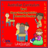 Year 4 Literacy with ICT Lesson Plan templates and activities