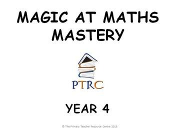 Year 4 Magic at Maths - Mastery pack