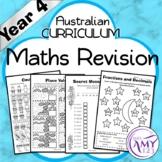 Year 4 Maths Revision - Australian Curriculum Aligned