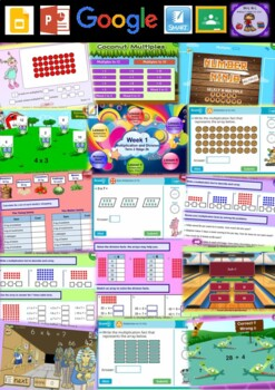 Year 4 Multiplication and Division Smart Notebook and Unit of Work Bundle 1