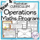 Year 4 Operations Australian Curriculum Maths Program
