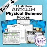 Year 4 Physical Science- Forces- Australian Curriculum