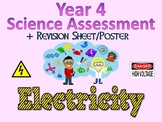 Year 4 Science Assessment: Electricity + Poster