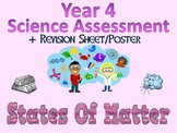 Year 4 Science Assessment: States Of Matter + Poster