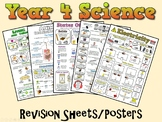 Year 4 Science Posters/Revision Sheets