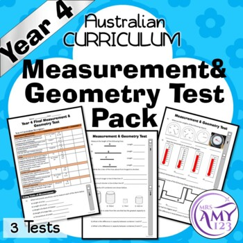 Year 4 Statistics & Probability Maths Test Pack- Australian Curriculum