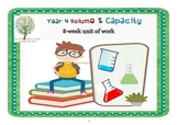 Year 4 Volume and Capacity Unit of Work