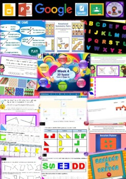 Year 5 2D Space Smart Notebook and Unit of Work Bundle 2