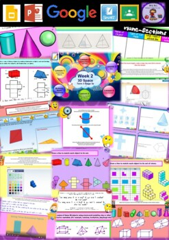 Year 5 3D Space Smart Notebook and Unit of Work Bundle 2
