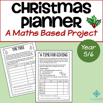 Year 5/6 Christmas Planner - A Maths Based Christmas Project