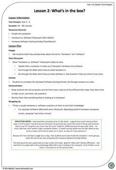 Year 5-6: Digital Systems - Lesson 2