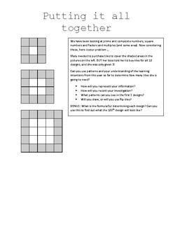 Year 5/6 Mathematics Unit RESOURCE 3