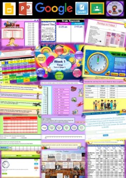 Year 5 & 6 Time Smart Notebook and Unit of Work Bundle 2