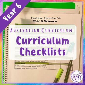 Year 6 Australian Curriculum Checklists