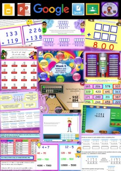 Year 5 Addition and Subtraction Smart Notebook and Unit of Work Bundle 1