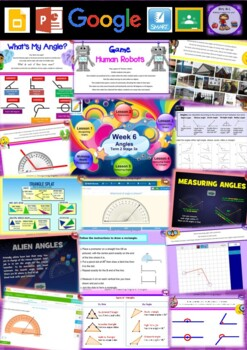 Year 5 Angles Smart Notebook and Unit of Work Bundle 1