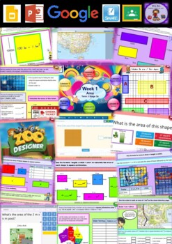 Year 5 Area Smart Notebook and Unit of Work Bundle 1