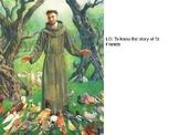 Year 5  Autumn Planning R.E. Religious Studies Catholic Hindu St Francis Assisi