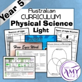 Year 5 Physical Science- Light- Australian Curriculum