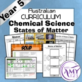 Year 5 Chemical Science- States of Matter- Australian Curriculum