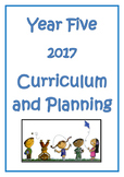 Year 5 Curriculum and Planning 2017
