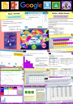 Year 5 Data Smart Notebook and Unit of Work Bundle 3