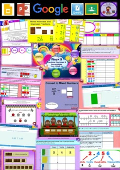 Year 5 Fractions & Decimals Smart Notebook and Unit of Work Bundle 2